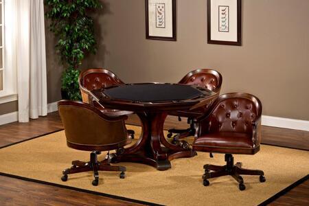 Hillsdale Furniture 6234GTBC Harding 5 Piece Game Set in Rich Cherry 776963