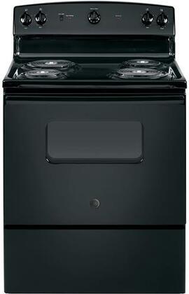 GE JBS160DMBB 5.0 Cu. Ft. Black Electric Coil Range