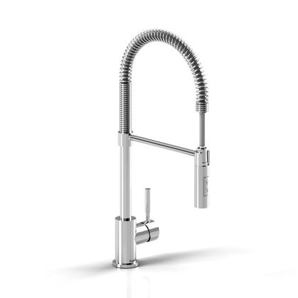 B1201C Bistro BI201C Commercial Kitchen Faucet with Ceramic Cartridge  Flexible Spout and 2-jet Hand Spray in