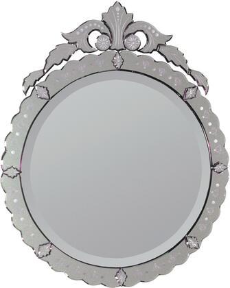 MT428 28x34 ContAntiqueo Mirror with Mirror