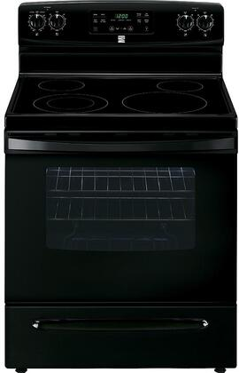 94179 30 Freestanding Electric Range with 5.3 cu. ft. Oven Capacity  4 Elements  Self Cleaning Oven and Storage Drawer in