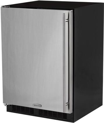 ML24RIP5LP 24 inch  Star K  Energy Star Compact Refrigerator with 72 Cans Capacity  Ice Maker  13 Lb Ice Capacity  Automatic Defrost  Adjustable Shelves and Dynamic