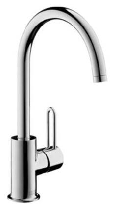 38030821 Axor Uno Lav Mixer High Spout: Brushed