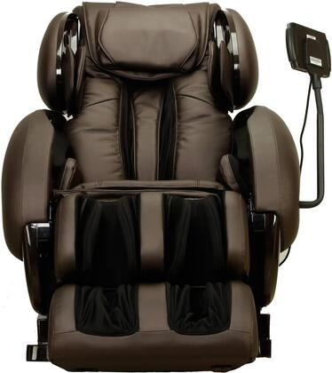 Infinity IT-8500EB Massage Chair with Headphone Port  Four-Wheel Massage Mechanism  Spinal Correction  Accu-Roll Shoulder Massage and Synthetic Leather