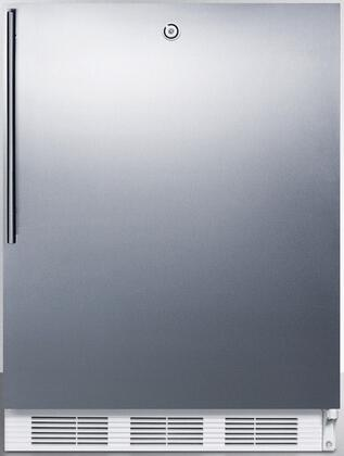 FF7BISSHVADA 24 inch  FF7BIADA Series ADA Compliant  Medical  Commercially Approved Freestanding or Built In Compact Refrigerator with 5.5 cu. ft. Capacity
