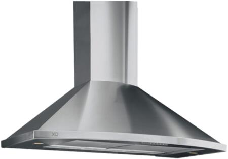 XOS36SMUA Fabriano Collection 36 inch  Wide 395 CFM  Halogen Lighting  3 Fan Speeds  in Stainless