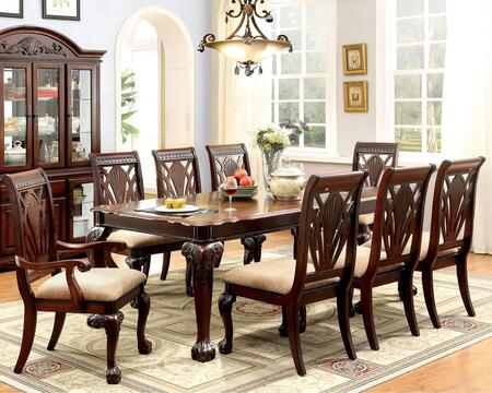 Click here for Petersburg I CM3185T Dining Table  with Traditiona... prices