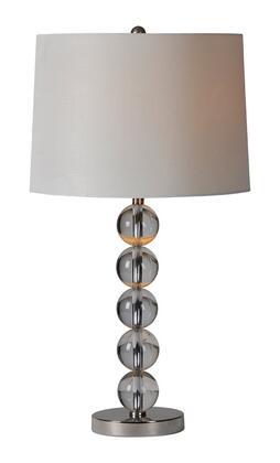 LPT456 Monaco Table Lamp Table Lamp in Satin