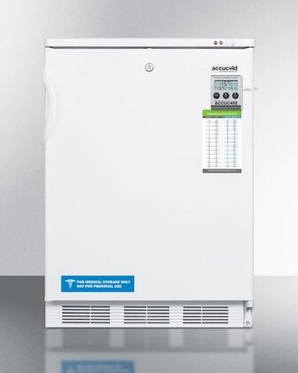 VT65MLBIMEDSC 24 inch  Plus Series 3.2 cu.ft. Built-In Capable Under-Counter Medical Freezer  Factory Installed Lock  Manual Defrost  Digital Thermostat  Reversible