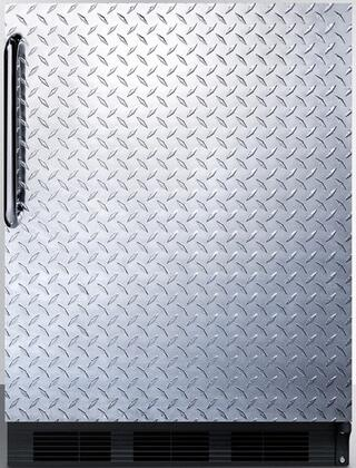 CT66BDPL 24 inch  CT66J Series Medical Compact Refrigerator with 5.1 cu. ft. Capacity  Dual Evaporator  Zero Degree Freezer Compartment  Cycle Defrost  Crisper and