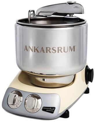 AKM6230C Ankarsrum Original Mixer with 7 Liter Stainless Steel Bowl  3.5 L Double Whisk Bowl  Dough Hook  Roller  Scraper  Spatula  Dust Cover  Cookie Beaters