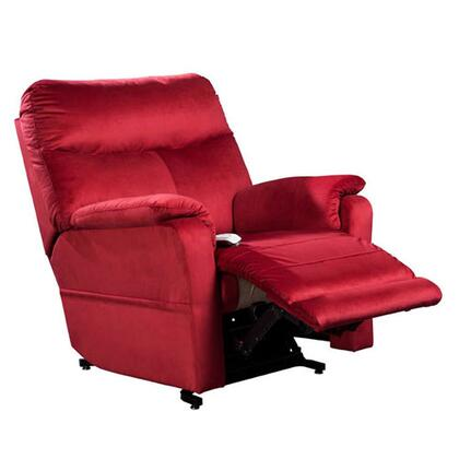 Cloud NM1750-OCR-A11 38 inch  Power Recliner Lift Chair with 3-Position Mechanism  Chaise Pad and Sinuous Spring with Pocket Coil Seat in