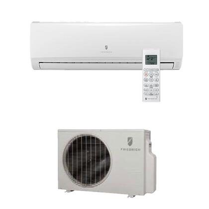 M12CJ Energy Star Qualified  Single Zone  Wall-Mounted  Cool Only  Ductless Split System with Inverter Technology  10600 BTU Cooling Capacity  21.5