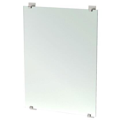 1596 Elevate 32 in. x 22 in. Frameless Mirror in Satin