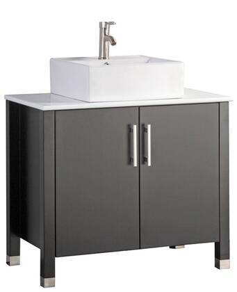 -8118E Aruba 40 Single Sink Bathroom Vanity Set