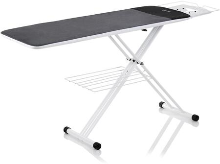 The Board 300LB 2-in-1 Premium Home Ironing Board with Double Wishbone Legs  Tube Frame Construction and Laundry Rack  in