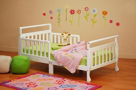 7008W Athena Anna Toddler Bed in