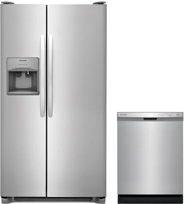 2-Piece Stainless Steel Kitchen Package with FFSS2615TS 36