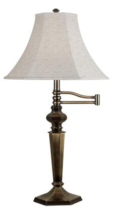 20616GBRZ Mackinley Swing Arm Table Lamp in Golden Bronze thumbnail
