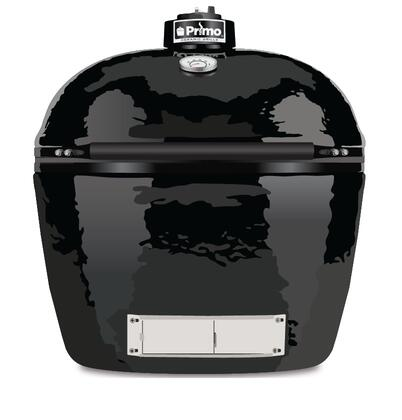 774B Oval JR 200 with Premium-Grade Ceramics and Reversible Cooking Grates  Grills 8 to 15