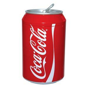 """CC10 11"""" Coca-Cola Compact Refrigerator with 0.35 cu. ft. / Eight 12 Oz Can Capacity  3 Mode Selection with Low 32 F and High 135 F Temperature Control  in"""