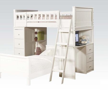 10970A Willoughby Headboard Loft Bed