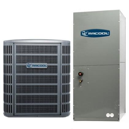 MACH13048 A/C Condenser and Air Handler 13SEER R410A with 48000 BTU Nominal Cooling  High-efficiency compressor and Aluminium micro channel heat