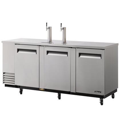 TBD4SD 4 Keg Beer Dispenser with Forced Cooling System  Incandescent Interior Lighting  Efficient Refrigeration System  High Density PU Insulation
