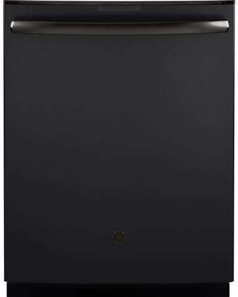 """GE PDT845SFLDS Profile Series 24"""" Top Control Tall Tub Built-In Dishwasher Black Slate"""