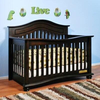 4688E Jordana Lia 3-in-1 Convertible Crib in