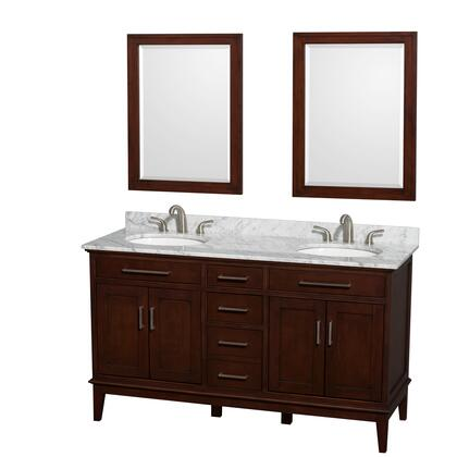 WCV161660DCDCMUNRM24 60 in. Double Bathroom Vanity in