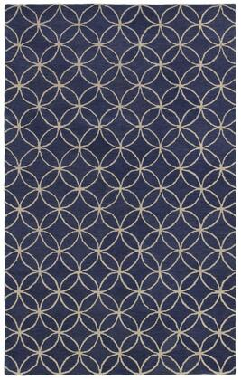 Opuop812009370305 Opus Op8120-3 X 5 Hand-tufted 100% Wool Rug In Blue  Rectangle
