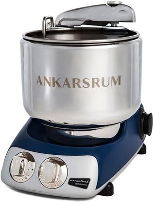 AKM6230RB Ankarsrum Original Mixer with 7 Liter Stainless Steel Bowl  3.5 L Double Whisk Bowl  Dough Hook  Roller  Scraper  Spatula  Dust Cover  Cookie Beaters