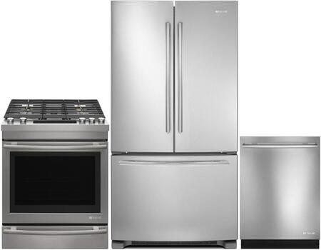 3 Piece Kitchen Appliance Package with JGS1450FP 30