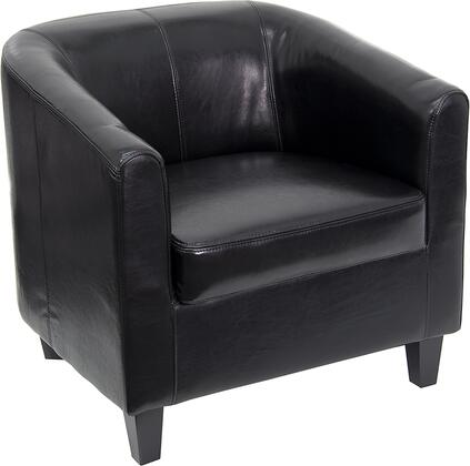 Click here for BT-873-BK-GG Black Leather Office Guest Chair / Re... prices