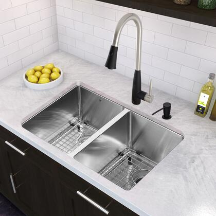 VG02023STMB Stainless Steel Pull-Out Spray Kitchen