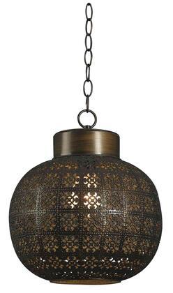 92055ABR Seville 1 Light Mini Pendant in Aged Bronze