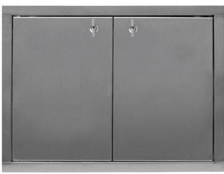 DR24D Dual Stainless Steel Access