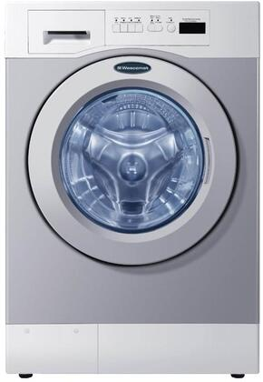 "Grey Front Load Card Ready Laundry Pair with WHWF09810DC 27"""" Washer and DAWF0EDC 28"""" Electric"" 719776"