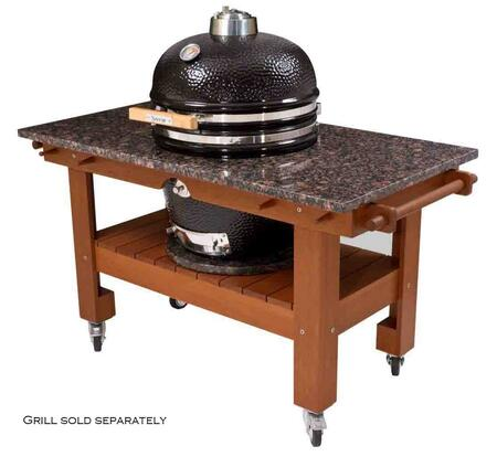 SGTM19O-SGTG19RM Lg Red Midnight Granite Top  for 19 inch  Saffire Grills Table in Asian
