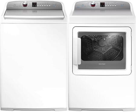 White Top Load Laundry Pair with WL4027P1 27