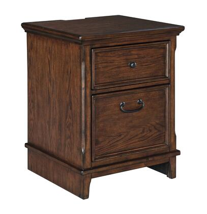 """Woodboro Collection H478-42 24"""" Lateral File Cabinet with AC Power Outlet  2 USB Ports and Insert Tray in Top Drawer in"""