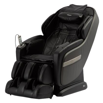 OS-Pro Summit BLACK Massage Chair with S L Combo Massage Track  Dual Foot Roller Massage  Air Intensity Adjustment  USB Charging  Space Saving Technology and