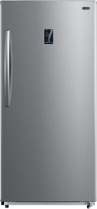 Whynter UDF-139SS 13.8 cu.ft. Energy Star Digital Upright Convertible Deep Stainless Steel Freezer/Refrigerator One Size