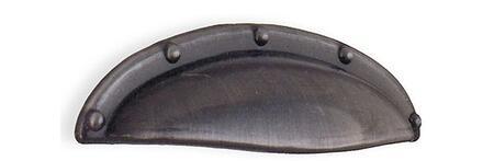 B571 Beslagsboden Series: Zinc Cup Pull in Dark 273025