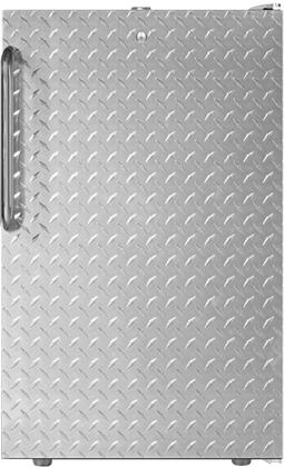 FS407LDPL 20 inch  Upright Freezer with 2.8 cu. ft. Capacity  4 Pull-Out Storage Drawers  Reversible Door  Factory Installed Lock and Manual Defrost  in Diamond