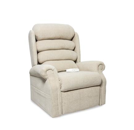 Stellar NM1950-ED0-A11 35 inch  Power Recliner Lift Chair with 3 Position Mechanism  Single Motor and Sinuous Spring and Foam Seat in