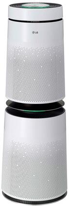 LG PuriCare 360 Degree Air Purifier with Google Assistant and Amazon Alexa Compatibility, Quiet as a Whisper, with a True HEPA Filter, AS560DWR0