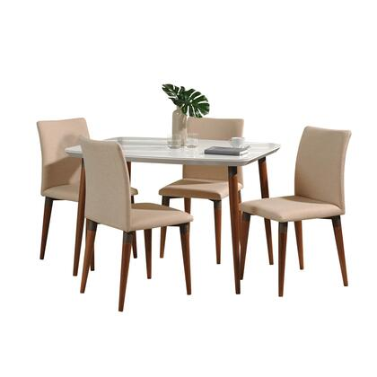 2-10128511011452 5-Piece Charles Dining Set with 45