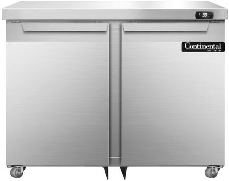 SW36U 36 inch  Undercounter Refrigerator with Solid Doors  Automatic  Energy Saving  Non-electric Condensate Evaporator  Door Locks and Expansion Valve System  in